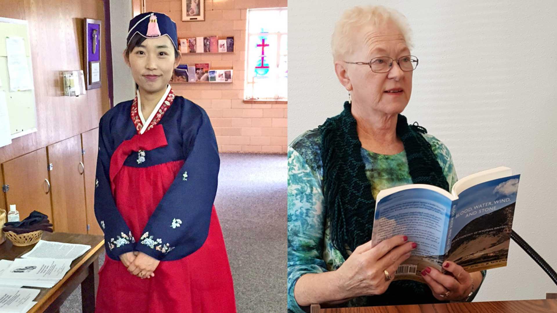 Eun Seon Kim + Barbara Smith